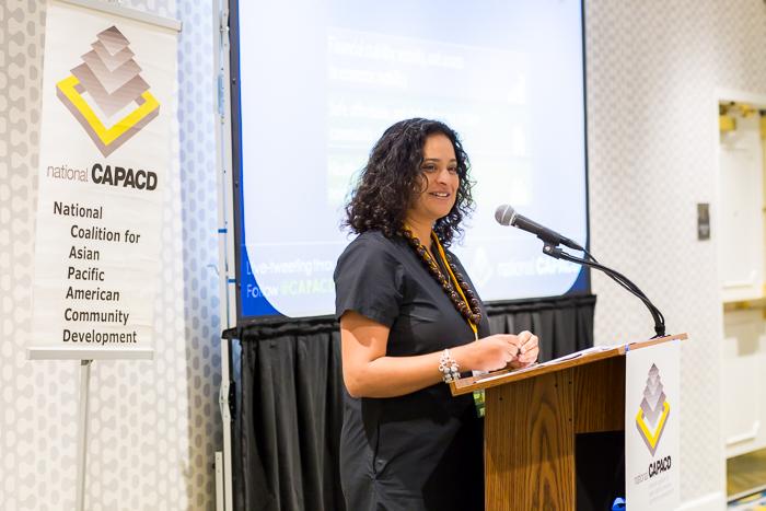 National CAPACD National CAPACD Executive Director Seema Agnani in